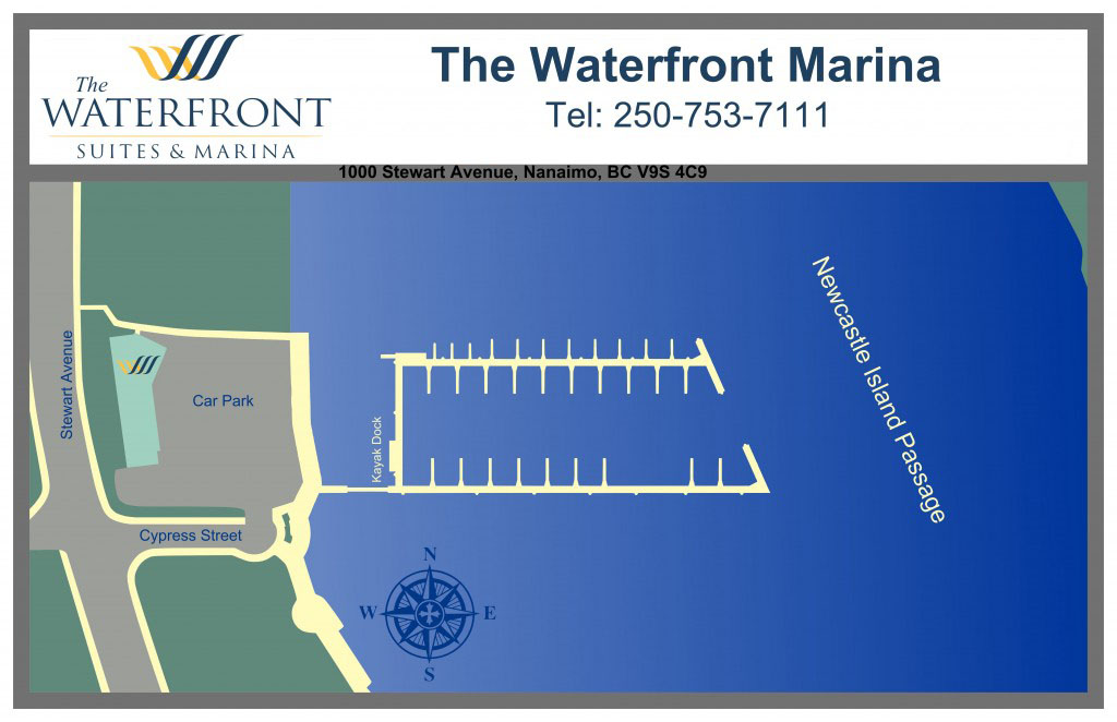 Waterfront Suites and Marina Map & Layout